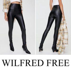🦊Wilfred Aritzia Darian Vegan Leather Leggings